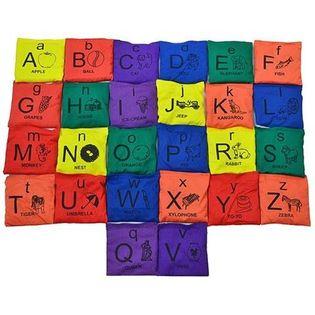 Woreczek gimnastyczny NO10 ALFABET VEDB-AZ5X5 alfabet