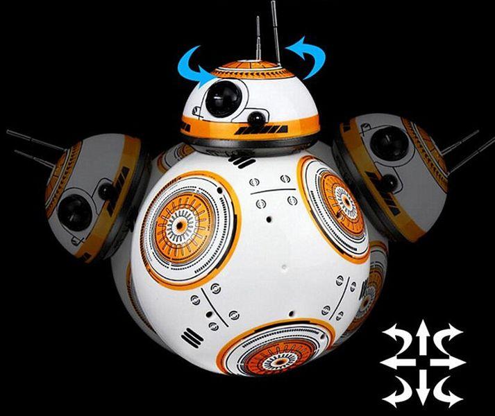 BB-8 ZDALNIE STEROWANY DROID STAR WARS ROBOT BB8 RC Z190 zdjęcie 10
