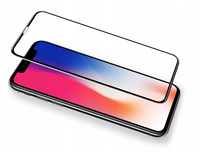 3MK HardGlass MAX - iPhone XR - SZKŁO CAŁY EKRAN 3D