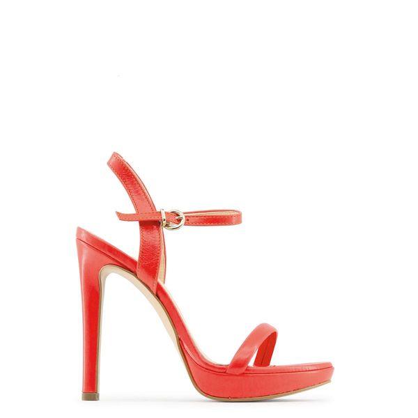 0bce8157d3474 Made in Italia skórzane sandały damskie szpilki czerwony 38 zdjęcie 1 ...