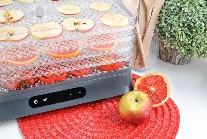 Suszarka do Grzybów Owoców Warzyw Timer 500W 5 Sit 6469 zdjęcie 3