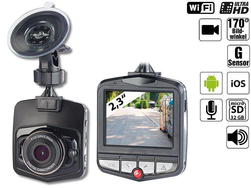 Rejestrator jazdy Ultra HD (4K Light) z WiFi i G-sensor zdjęcie 4