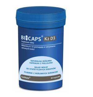 Formeds Bicaps K2+D3 Zdrowe kości 60 kaps vege