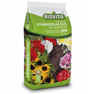 Ziemia uniwersalna do kwiatów roślin z nawozem 20L