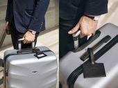 Kabinowa walizka podróżna ABS czerwona S Ryanair Wizzair zdjęcie 5