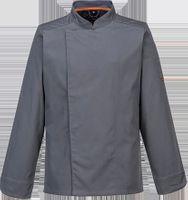 Bluza kucharska MeshAir Pro L/S - SLATE; LARGE