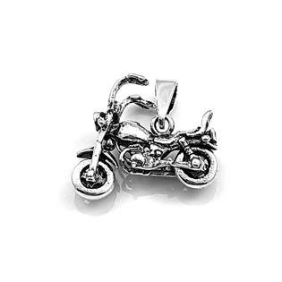 Wisiorek srebrny motor