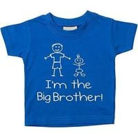 T-shirt I'm The Big Brother Fruit Of The Loom