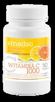 Witamina C1000 z bioflawonoidami 50 tabletek + Tran GRATIS
