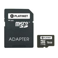 Karta pamięci 16 GB microSDHC + adapter