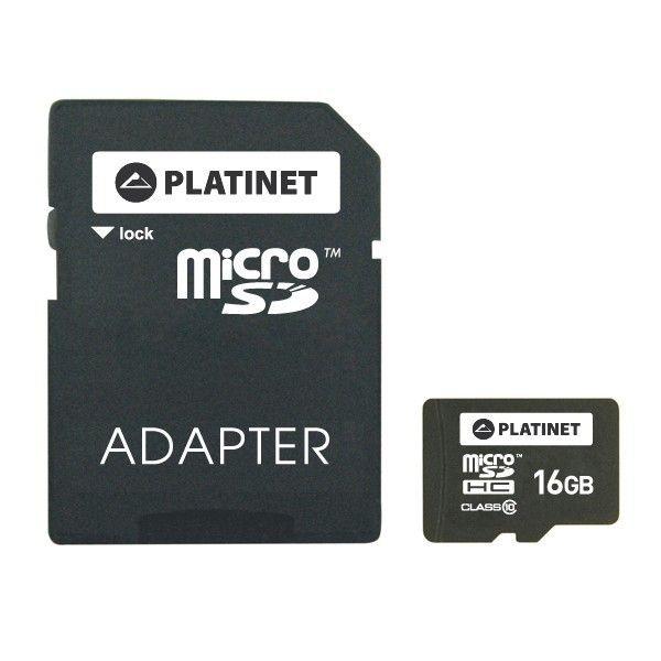 Karta pamięci 16 GB microSDHC + adapter na Arena.pl