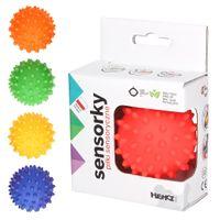 Hencz Toys Piłeczka Sensoryczna 1 szt Jeżyk Czerwona