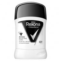 REXONA MEN Invisible on black & white clothes antyperspirant w sztyfcie dla mężczyzn 50 ml