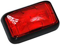 Lampa LED obrysowa tylna czerwona 2 super flux 12v 24v wodoodporna