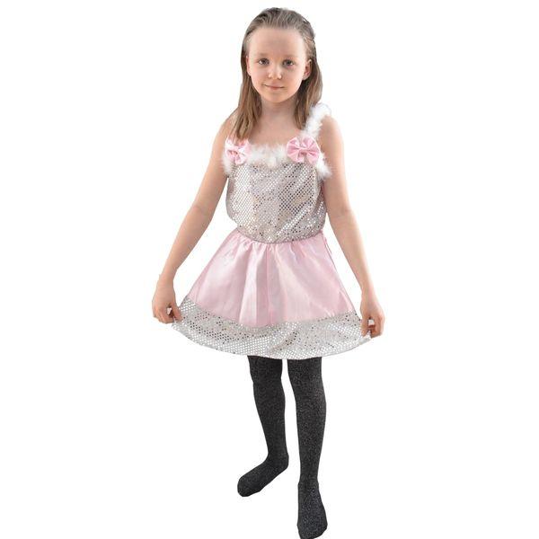 Strój dla dzieci Różowa Baletnica 98-140 zdjęcie 1