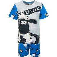 Piżama z krótkim rękawem Shaun the Sheep (5204025 Grey 7Y)