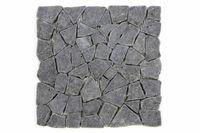 Mozaika kamienna z andezytu Garth na siatce ciemno szara 1 m2 D00594