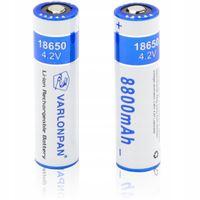 OGNIWA AKUMULATORKI 18650 Li-Ion 8800mAh 3.7V-4.2V