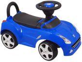 Interakywny Jeździk FERRARI BABY MIX gumowe koła niebieski