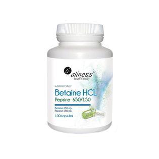 Betaine HCL i Pepsine 650/150 100kap