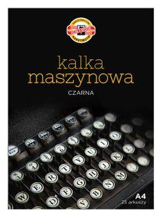 KALKA MASZYNOWA A4 25A KOH-I-NOOR
