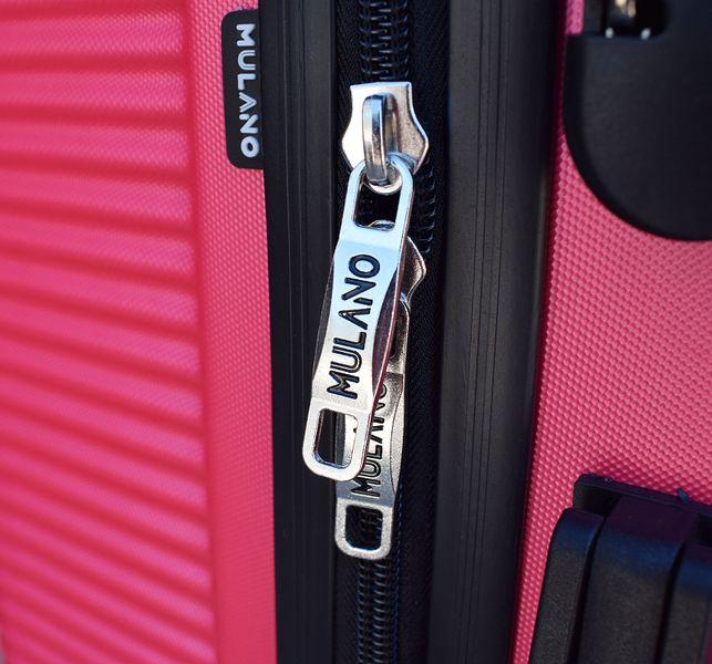 WALIZKA walizki kółka torba samolot ZESTAW M + L RÓŻOWA 1356 + 1357 zdjęcie 8