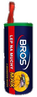 Lep okrągły na muchy BROS Max 1szt.