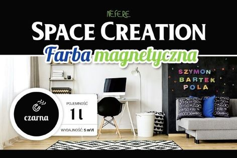 Farba magnetyczna Space Creation 1 litr