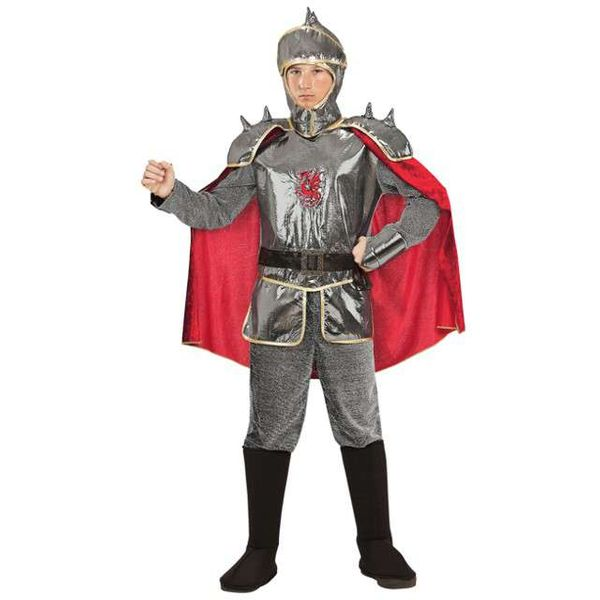 strój RYCERZ KAROL rycerza dla dzieci 8-10 lat 140 zdjęcie 1