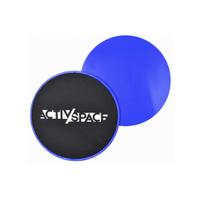 Dyski/podkładki poślizgowe do ćwiczeń x 2 - ACTIV/SPACE