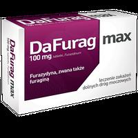 Dafurag max 100 mg furazydyny  15 tabletek