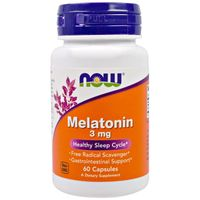 Now Foods Na Sen Melatonina 3 mg 60 kapsułek