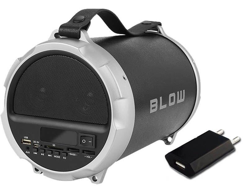 GŁOŚNIK BLUETOOTH BLOW BT1000 100W USB SD FM AUX + ŁADOWARKA zdjęcie 1