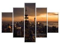 Miasto Nowy Jork o świcie 5H 150x105 obity GRATISY