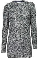 C&A Biało-Czarny Melanżowy Sweter, Cekiny - 36 / S