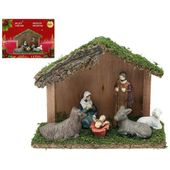 Christmas nativity set Christmas Planet 4417 (6 pcs)