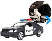Samochód policyjny Radiowóz interaktywny dźwięki i światła Y259 zdjęcie 10