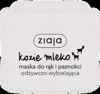 ZIAJA Kozie Mleko 75ml-Maska do rąk i paznokci