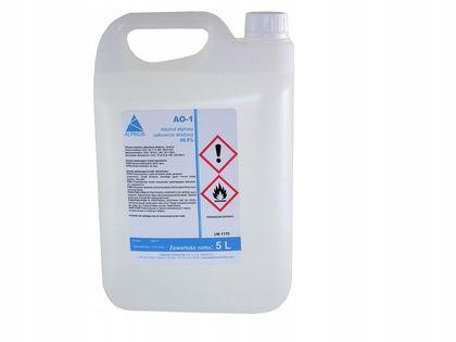 Alkohol etylowy 99,9% skażony 5 L odtłuszczanie dezynfekcja