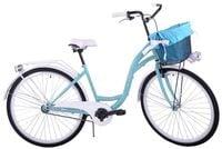(K24) Rower miejski damski Kozbike 28 morsko-biały
