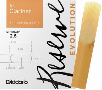 Stroik klarnet Bb 2,5 Rico RESERVE EVOLUTION