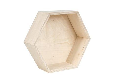 Półka typu plaster miodu