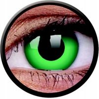 Crazy Lens - Emerald Green, 2 szt.