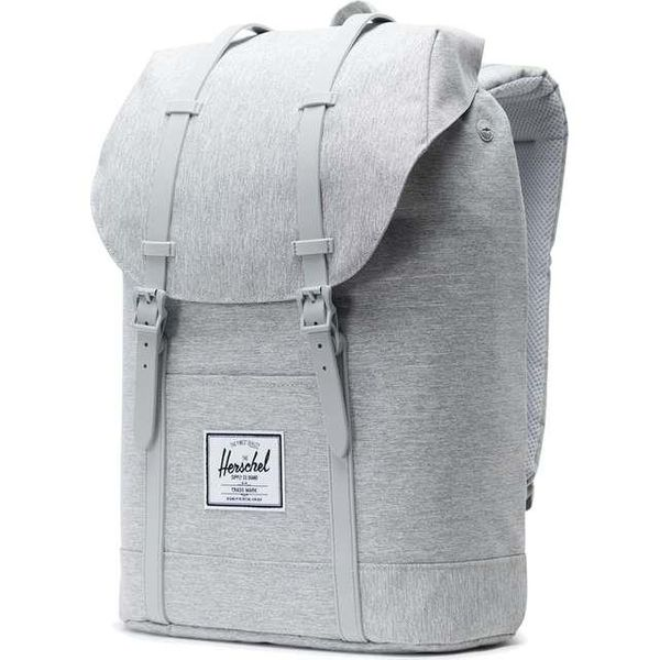 dae499c6a3b1e PLECAK HERSCHEL RETREAT LIGHT GREY CROSSHATCH GREY (10066-02041) zdjęcie 3