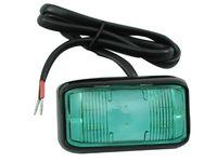 Lampa LED 4 SMD mini 6 cm ZIELONA 12v 24v