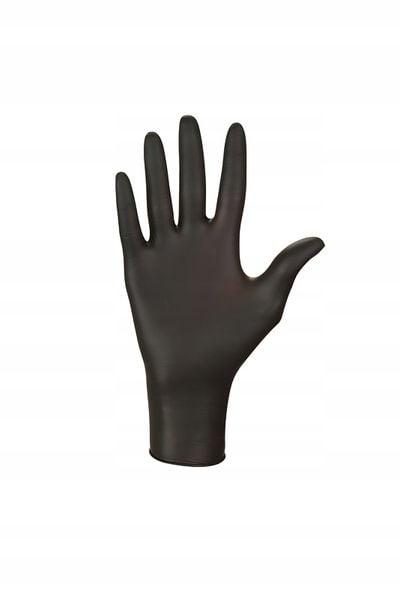 Rękawice nitrylowe nitrylex black S karton 10 x 100 szt na Arena.pl