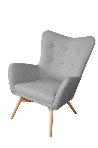 Skandynawski Fotel na wysokich nóżkach zdjęcie 3