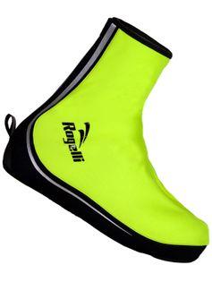 Ochraniacze na buty rowerowe Rogelli ASPETTO żółte 42-43 L