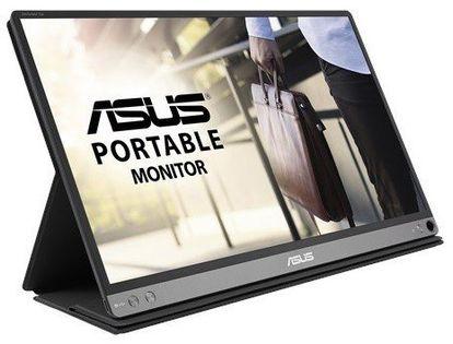 "Monitor Asus 15.6"" 1920 X 1080 Mb16Ap Ciemnoszary"