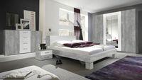 Sypialnia VERA 1 beton colorado / biały